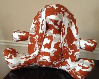 """My """" Cool Camo Texas Longhorn""""  bunny"""