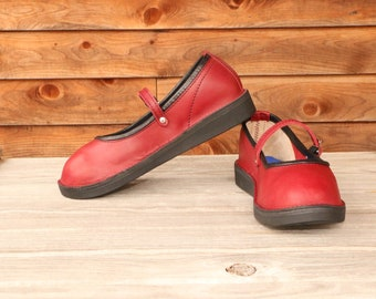 Athens - Custom Handmade Mary Jane Style Leather Shoes
