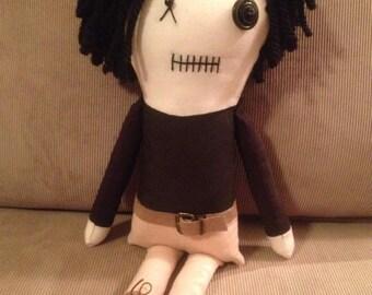 Glenn - Inspired by TWD - Creepy n Cute Zombie Doll (D&P)