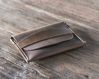 Coin Purse Wallet, PERSONALIZED Leather Wallet, Mens Leather Wallets, Womens Leather Wallets, Perfect Gift Idea #014