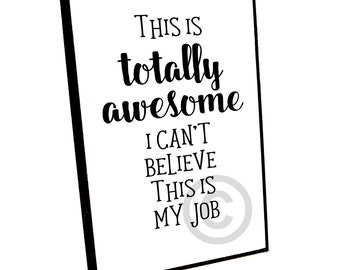 OFFICE Plaque, FUNNY Desk Sign, Inspirational Plaque, 4x6 Wood Sign