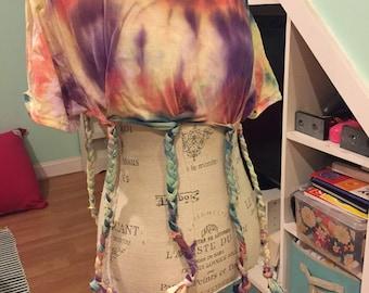 Adult Large Rainbow Braid Shirt