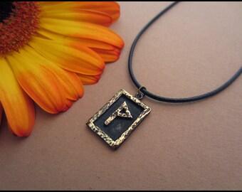 Viking Wunjo Rune - Joy - Viking Norse Jewelry Pendant Necklace