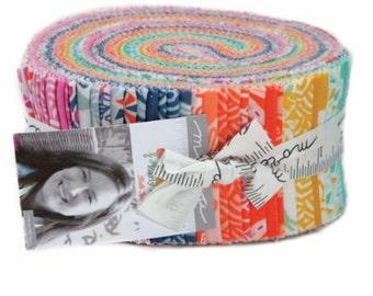 "Early Bird by Kate Spain for Moda Fabrics JellyRoll (2.5"" x WOF strips)"