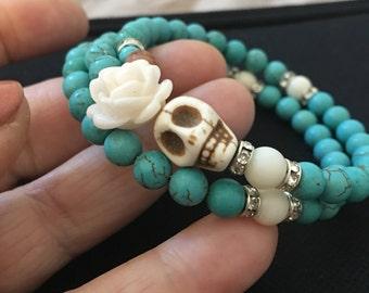 Skulls & Turquoise