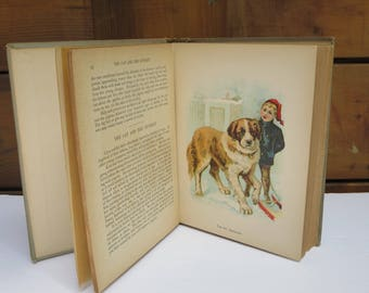 ANTIQUE STORY BOOK, Kids book, Collectible, The Animal Story Book 1904, Children book, Story-Book, Illustrating book, Gift ideas