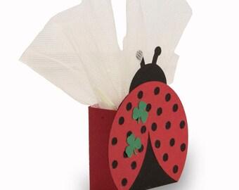 "Favor box ""Ladybug"""