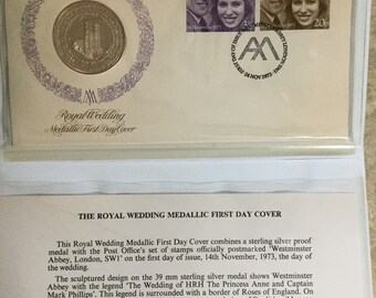 Royal Wedding 1973 - First Day Cover