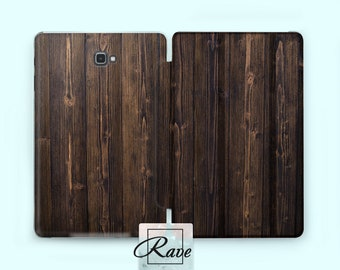 Wood cover Samsung s2 case Tab 10.1 case Flip case Tab a 0.8 case Wood patterns Tab s3 10 inch Tablet case Galaxy tab 8 Protective cover 2 3
