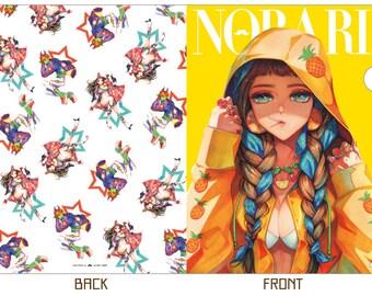 Norari Fashion Clear File folder (a4size)