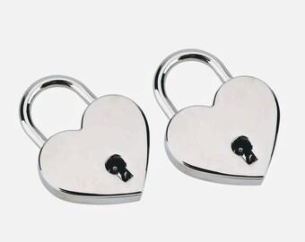 Silver Heart Lock