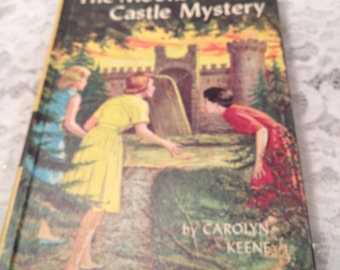 The Moonstone Castle Mystery by Nancy Drew, 1963 Copyright, # 40 in Series.
