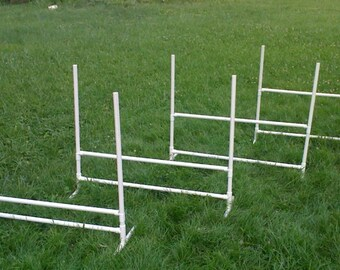 4 Budget Dog Agility Training Jumps with FREE SHIPPING