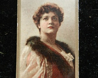 Spring Sale 1890s Sweet Caporal Tabacco Actress Dorothy Dene # 12 Card