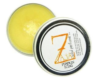 Handmade Solid Perfume - Pumpkin Icing by ZAJA Natural 1 oz