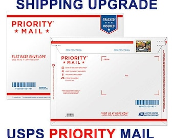Upgrade to USPS Priority mail  (Domestic US Shipping ONLY)