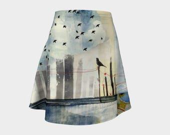 Longing Flare Skirt