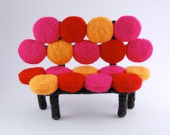 amigurumi pattern - bubbly sofa
