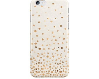 Organic Dots iPhone Case, iPhone 6, iPhone 6 Plus, iPhone 5/5s, Samsung Galaxy s3, s4, s5, Ivory, NewSerenityStudio