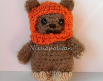Star Wars Inspired Amigurumi Doll - Wicket the Ewok - MADE TO ORDER