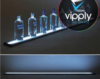 """72""""  LED Bar Shelf, Bottle Display, Light Shelf, Display Shelf, Liquor Bottle Shelving"""