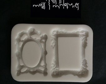 Vintage Duo Frame Silicone Mold