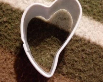 White Heart Cookie Cutter