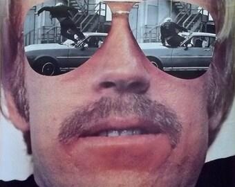 Chuck Norris 23x35 Good Guys Wear Black Movie Poster 1977