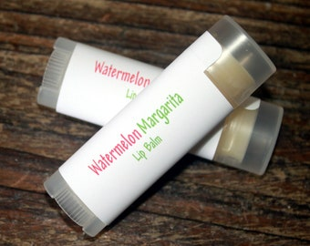 Watermelon Margarita Lip Balm, Made In Maine, Handmade  Watermelon Margarita Flavored  Balm. Made in Maine Lip Care, Margarita Lip Butter