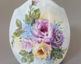 Hand Painted Spring Flower Vase