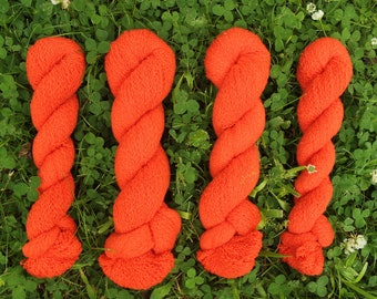 Poppy Red 100% Cashmere Recycled Yarn - 2,404 Yards (2-ply)