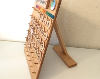 Tabletop Stand for Perpetual Calendar