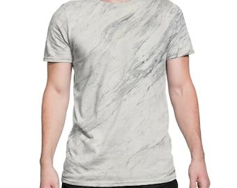 White Marble T-Shirt Grunge Clothing funny fun tumblr hipster swag grunge goth punk new retro vtg