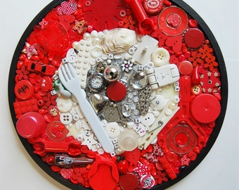 Magpie Mosaics Wheel: Recycled Objects 004