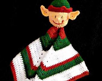 Elf Lovie Blaket Crochet Pattern PDF 635