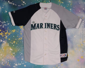 Seattle MARINERS Sports Jersey Size L
