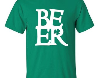 Green St. Patrick's Day BEER t-shirt