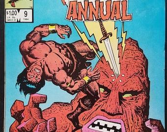Conan the Barbarian Annual #9 (1984) Comic Book