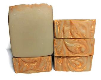 Orange Dream - Cold Process Soap - Essential Oil Soap - Creamsicle