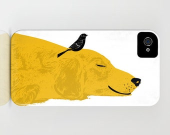 Golden Retriever Dog on Phone Case - golden retriever ,  Samsung Galaxy S7,  , iPhone 6S, iPhone 6 Plus, Gifts for Pet Lovers, iPhone 8