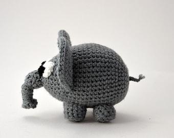Elephant Crochet Pattern, Elephant Amigurumi Pattern, Crochet Elephant Pattern, Animal Crochet Pattern, Animal Amigurumi, Zoo Animal Pattern