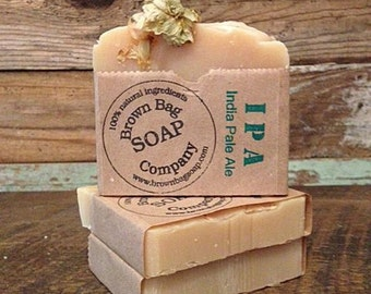 BEER SOAP - IPA- India Pale Ale -SweetWater Beer Soap