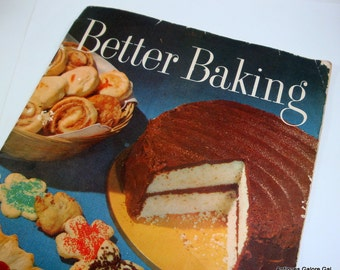 Vintage Cookbook, Better Baking, Crisco, Cooking, 1950's, Mid Century Recipes, Procter and Gamble Recipe Book