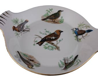 Louis Lourioux Birds Gratin Dish from Le Faune