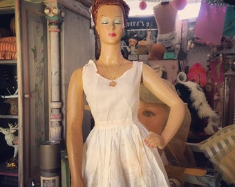The Hot Glorious Mess That She Is Vintage Countertop Mannequin
