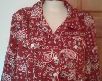 Women's cotton Coldwater Creek 100% cotton shirt