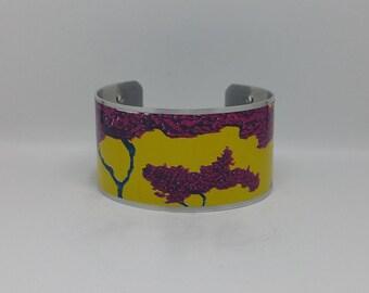 Japanese Maple Cuff Bracelet