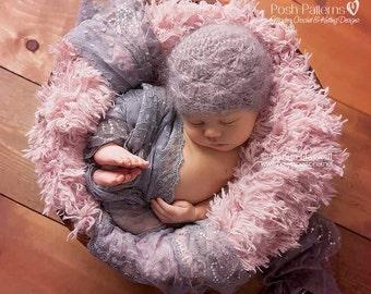 Crochet PATTERNS - Crochet Pattern Hat - Crochet Patterns for Babies - Crochet Hat Pattern - Incl Baby, Toddler, Kids, Adult Sizes - PDF 187