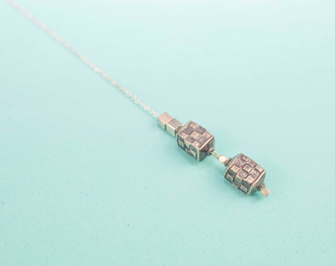 Sacred Square Necklace