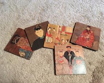 Asian Art Coasters